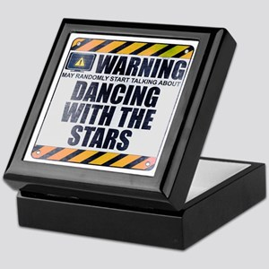 Warning: Dancing With the Stars Keepsake Box