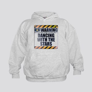 Warning: Dancing With the Stars Kid's Hoodie