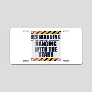 Warning: Dancing With the Stars Aluminum License P