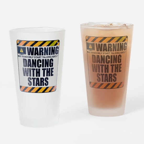 Warning: Dancing With the Stars Drinking Glass