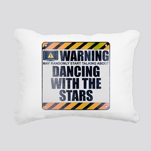 Warning: Dancing With the Stars Rectangular Canvas