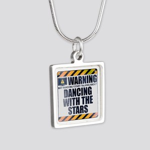 Warning: Dancing With the Stars Silver Square Neck