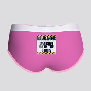 Warning: Dancing With the Stars Women's Boy Brief
