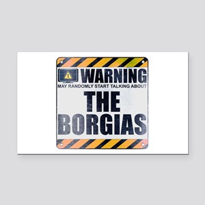 Warning: The Borgias Rectangle Car Magnet
