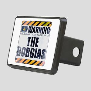 Warning: The Borgias Rectangular Hitch Cover