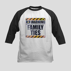 Warning: Family Ties Kids Baseball Jersey