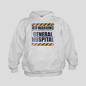 Warning: General Hospital Kid's Hoodie