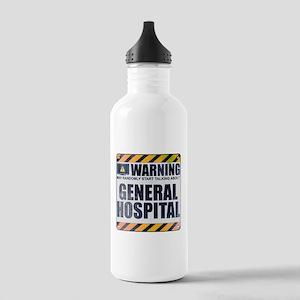 Warning: General Hospital Stainless Water Bottle 1