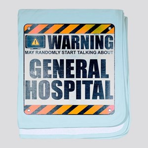 Warning: General Hospital Infant Blanket