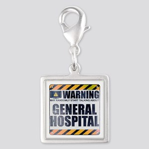 Warning: General Hospital Silver Square Charm