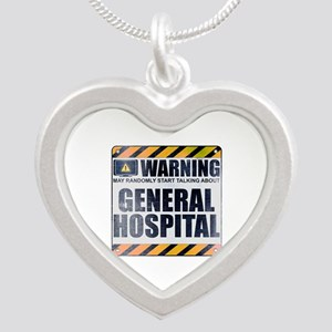 Warning: General Hospital Silver Heart Necklace