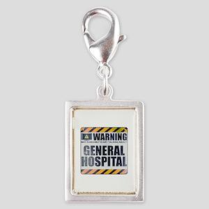 Warning: General Hospital Silver Portrait Charm