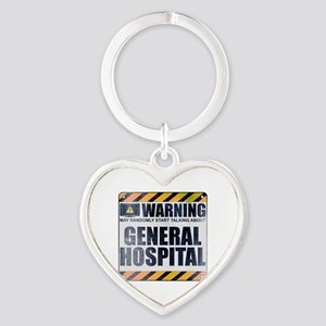 Warning: General Hospital Heart Keychain