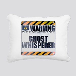 Warning: Ghost Whisperer Rectangular Canvas Pillow