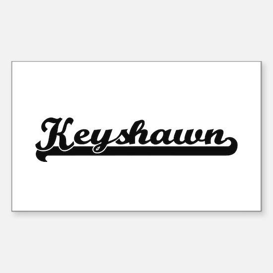 Keyshawn Classic Retro Name Design Decal