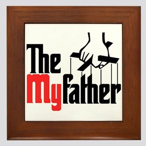 The My Father Framed Tile