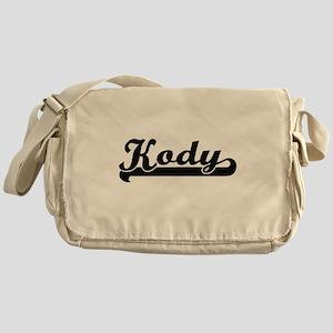Kody Classic Retro Name Design Messenger Bag