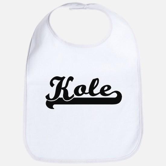 Kole Classic Retro Name Design Bib