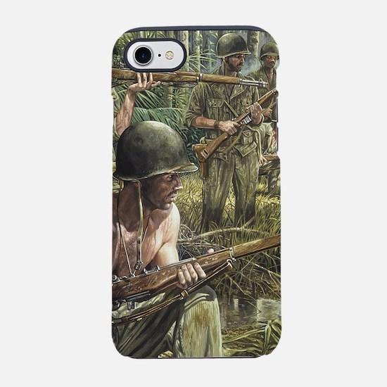 Vietnam War Painting iPhone 8/7 Tough Case
