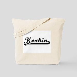 Korbin Classic Retro Name Design Tote Bag