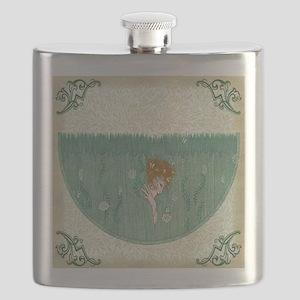 Art Deco Temptress Intrigue Flask