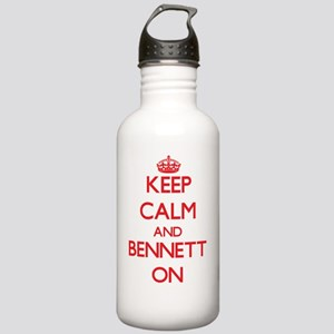 Keep Calm and Bennett Stainless Water Bottle 1.0L