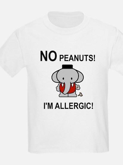 NO PEANUTS I'M ALLERGIC T-Shirt