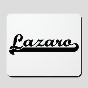 Lazaro Classic Retro Name Design Mousepad