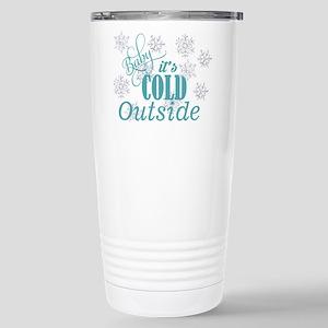 baby its cold Mugs