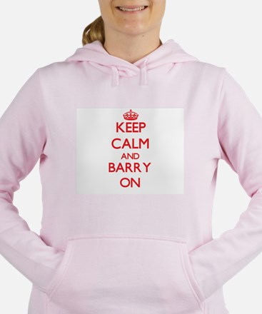Keep Calm and Barry ON Women's Hooded Sweatshirt