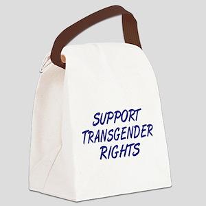 Support Transgender Rights Canvas Lunch Bag