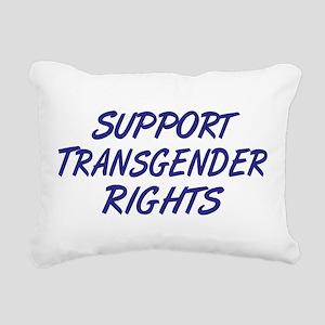 Support Transgender Rights Rectangular Canvas Pill