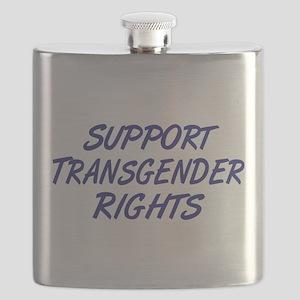 Support Transgender Rights Flask