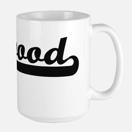 Linwood Classic Retro Name Design Mugs