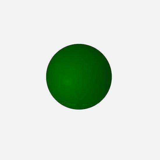 Hunter Green gradient Mini Button