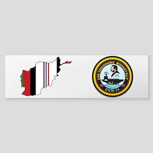 Uss Theodore Roosevelt Cvn 71 - Oef Bumper Sticker