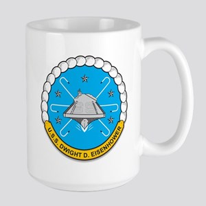 Uss Dwight D Eisenhower Cvn 69 Mugs