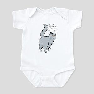 Blue Persian Tail Talk Infant Bodysuit
