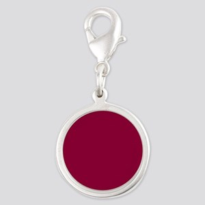 Solid red wine Charms