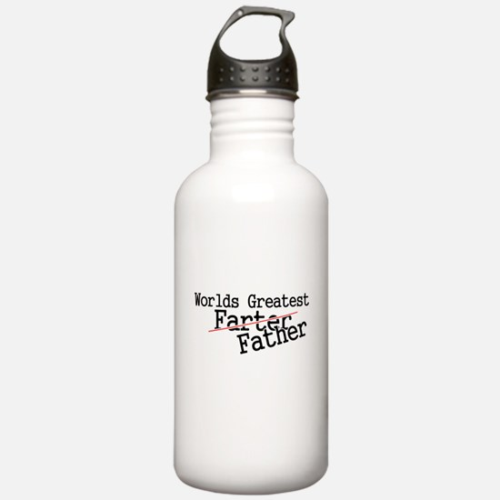 Cute Father be Water Bottle
