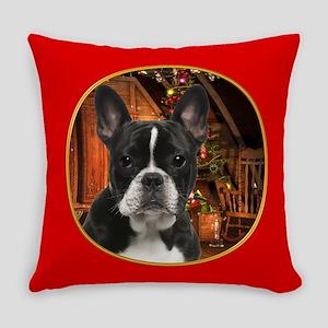 French Bulldog Christmas Everyday Pillow