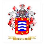 Marinetto Square Car Magnet 3