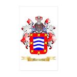 Marinetto Sticker (Rectangle 50 pk)