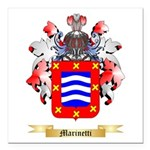 Marinetti Square Car Magnet 3