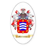 Marinescu Sticker (Oval)