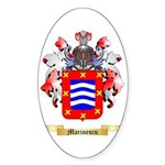 Marinescu Sticker (Oval 50 pk)