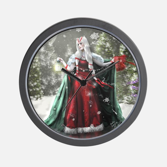 Unique Yule Wall Clock
