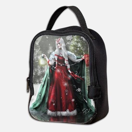 Unique Yule Neoprene Lunch Bag