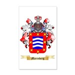 Marinberg 35x21 Wall Decal
