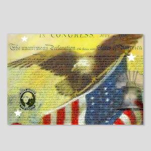 Vintage patriotic theme Postcards (Package of 8)